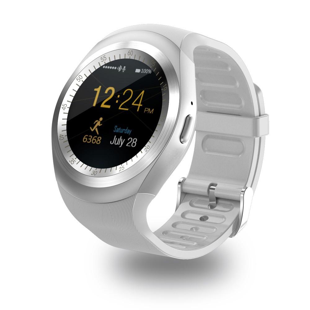 Часы Smart Watch Y1 White Гарантия 1 месяц