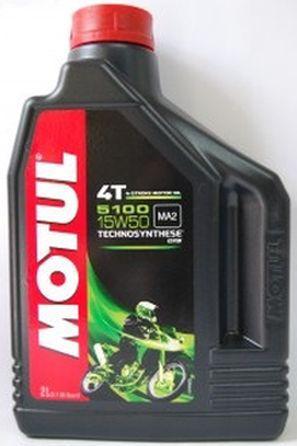 Моторное масло Motul5100 4T 15W50 2L