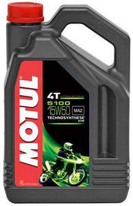 Моторне масло Motul 5100 4T 15W50 4L