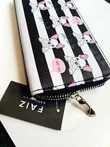 Женский кошелек с принтом «бульдоги», фото 2