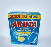 Таблетки для посудомойки Akuta Geschirr-reiniger-tabs Classic 100 s