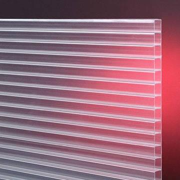 Сотовый поликарбонат  Soton  прозрачный  8 мм (3)
