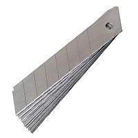 Лезвия для канцелярских ножей 18мм., (10шт.), Delta by Axent