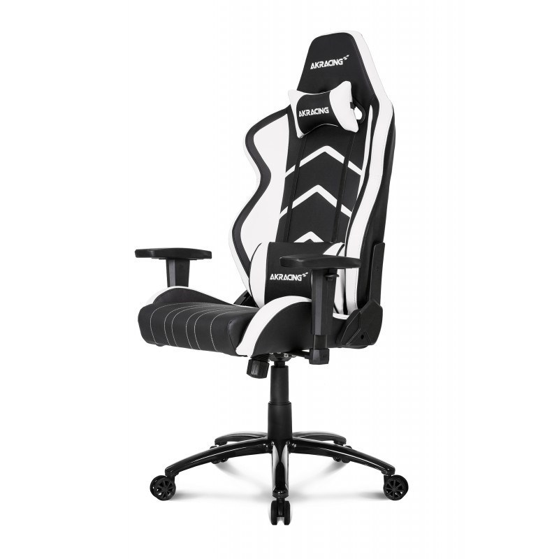 Кресло геймерское Akracing Player K601H black&white