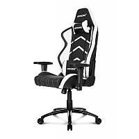 Кресло геймерское Akracing Player K601H black&white, фото 1
