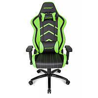 Кресло геймерское Akracing Player K601H black&green