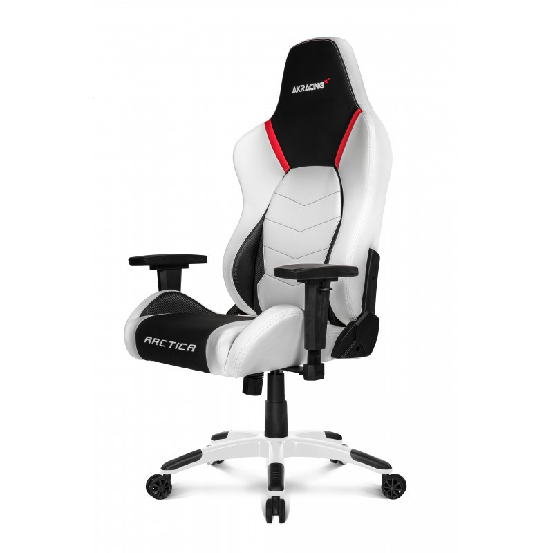 Кресло Akracing Premium V2 K700T Arctica white&black