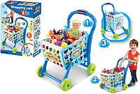 """Детский Игровой Набор """"Тележка Для Супермаркета"""" С Продуктами"""