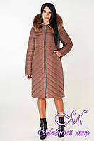 Женское зимнее стеганое пальто (р. 44-56) арт. 994 Тон 20