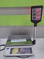 Весы торговые ПРОМПРИБОР ВТА-60 (ВТА-60\15-5-А, ВТА-60\30-5-А) с подключением к ПК и аккумулятором