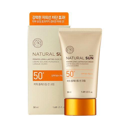 The Face Shop Солнцезащитный крем Natural Sun Eco Power SPF50+ PA+++ 50 ml