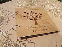 Фотоальбом з дерев'яними обкладинками, фото 1