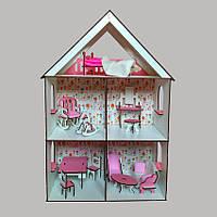 2106 Домик для LOL LITTLE FUN maxi + обои + мебель + текстиль