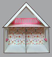 2103 Кукольний домик для LOL LITTLE FUN + обои2103