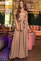 49e73f2d804 Бежевое вечернее платье в пол в Украине. Сравнить цены