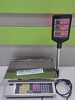 Весы торговые ПРОМПРИБОР ВТА-60 (ВТА-60\15-5-А-Ш,  ВТА-60\30-5-А-Ш) c подключением к ПК и аккумулятором