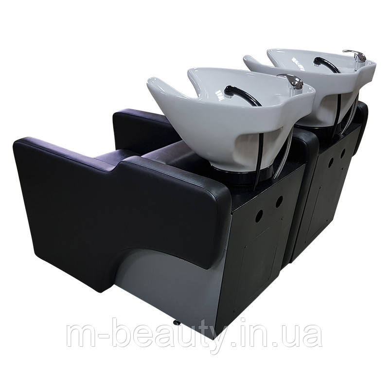 Кресло-мойка парикмахерская для двух персон М001010 2PS