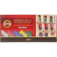 Пастель сухая 12 цветов TOISON D'OR portrait light, KOH-I-NOOR