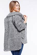 Женское весеннее полу-пальто  Аглая, фото 2