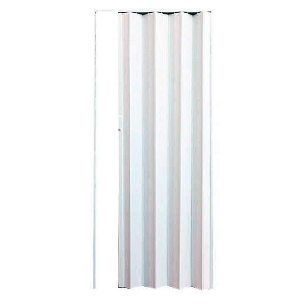 Двери-гармошка ПВХ Solo 2030х820 мм арктический белый