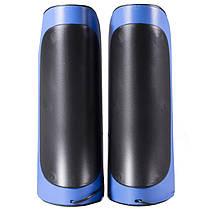 Колонки IFANG IF-818 синие компьютерные для компьютера ноутбука смартфона планшета jack 3.5 USB музыкальные, фото 2