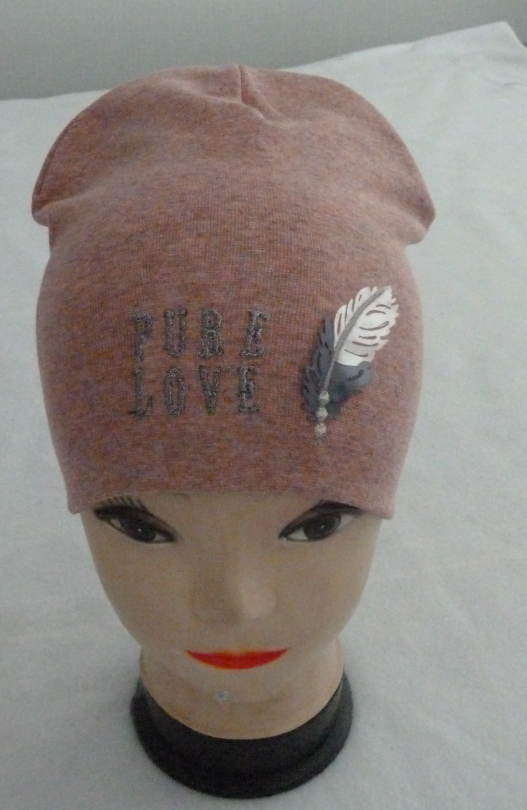 Модная осенняя шапка для девочки  3-8 лет, разные цвета