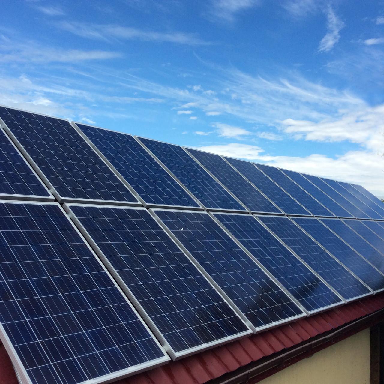 Видеообзор - Солнечная станция 30квт., и онлайн мониторинг выработки