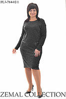 Платье большого размера ПЛ3-784 (р.50-60), фото 1