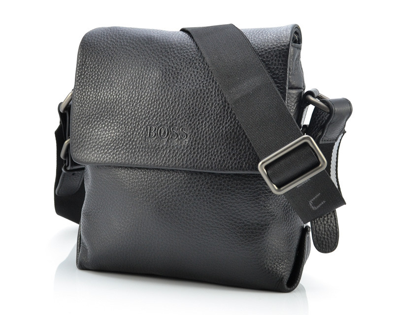 Кожаная мужская сумка Hugo Boss 5723A