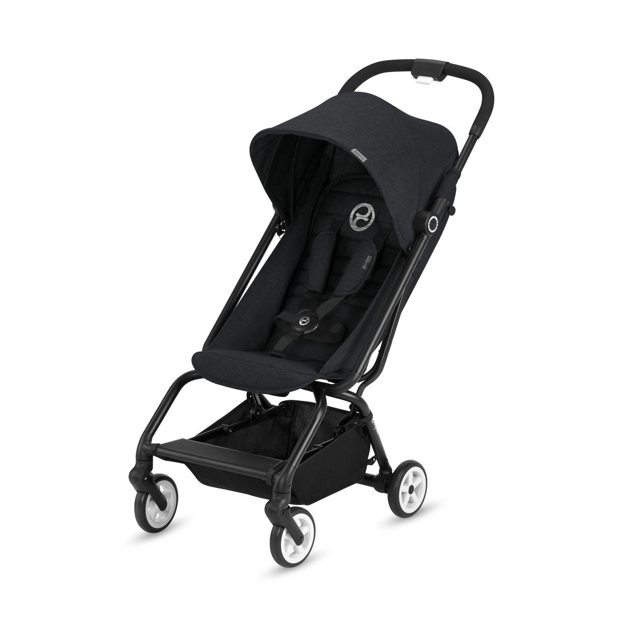 Cybex - Прогулочная коляска Eezy S, цвет Lavastone black
