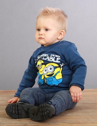 Толстовка дитячий з миньонами, толстовка міньйони, футболки міньйони, футболка з миньонами