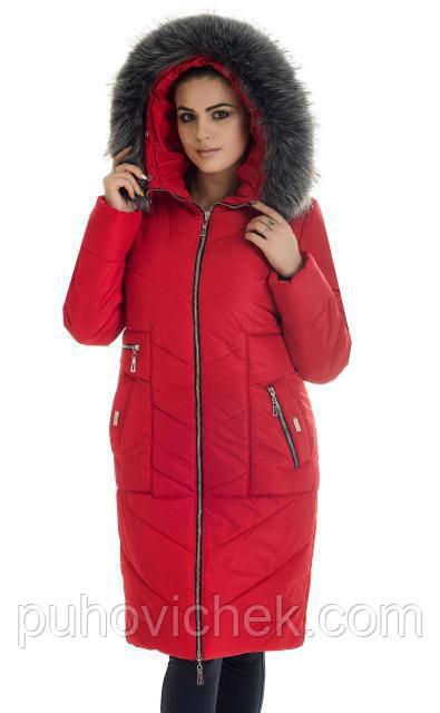 Модную зимнюю куртку женскую с мехом интернет магазин
