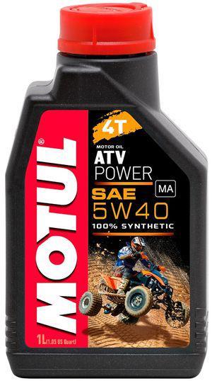 Моторное масло Motul ATV POWER 4T 5W40 1L