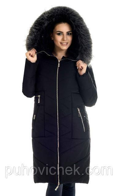 Зимняя женская куртка парка молодежная
