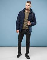 Куртка зимняя мужская 6008 т-синяя  ( S )