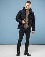Мужская зимняя куртка 6015 черная   ( S )
