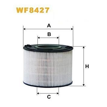 Фильтр топливный WIX WF8427 (PE 973/6)