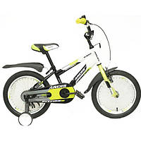 Велосипед Ardis  Fitness BMX 16 серо оранжевый ,бело салатовый