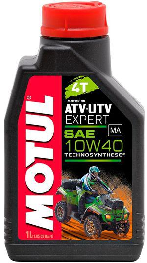 Моторное масло Motul ATV-UTV EXPERT 4T 10W40 1L