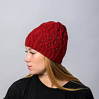 Вязанные женские шапки в Украине. Сравнить цены 891cfa8792c25