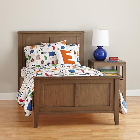 """Підліткове ліжко """"Білосніжка"""" з масиву вільхи"""