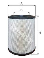 Фильтр воздушный M-Filter A559
