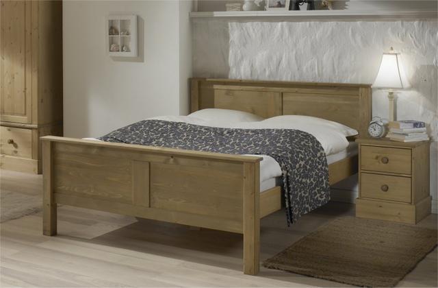 """Двуспальная кровать из натурального дерева  """"Авила"""", фото 2"""