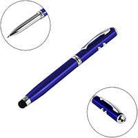 Фонарь ручка стилус 9623-LED,лазер,3xLR41,stylus