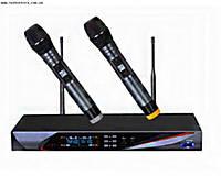 Микрофонная радиосистема UHF U-3800, 2 радиомикрофона