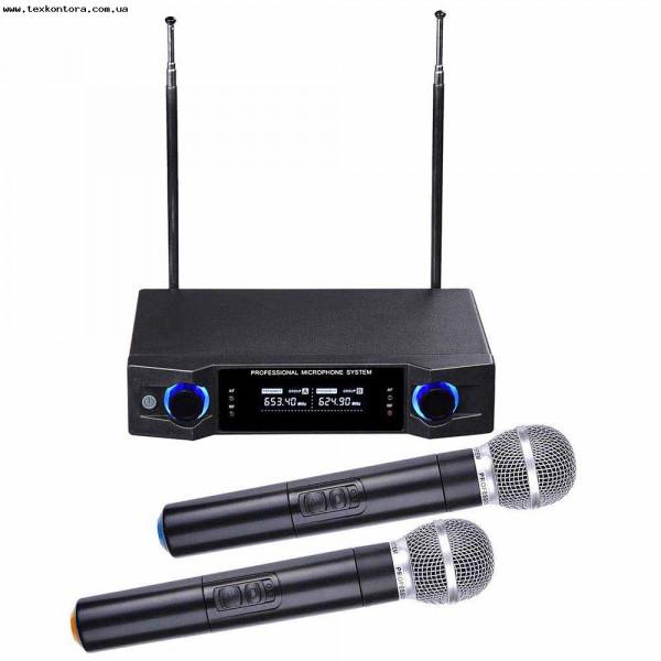 Микрофонная радиосистема UHF U-770, 2 радиомикрофона