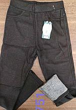 Лосины для девочек на меху AURA.VIA 134/140-158/164 см