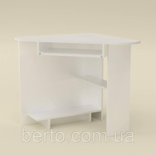 Копьютерный стол угловой СУ-15 белый