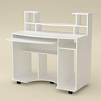 Копьютерный стол Комфорт-1 белый