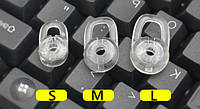 Амбушюры вкладыши для Bluetooth гарнитуры (прозрачные)
